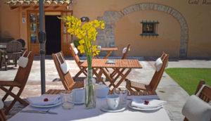Esmorzar a l'exterior
