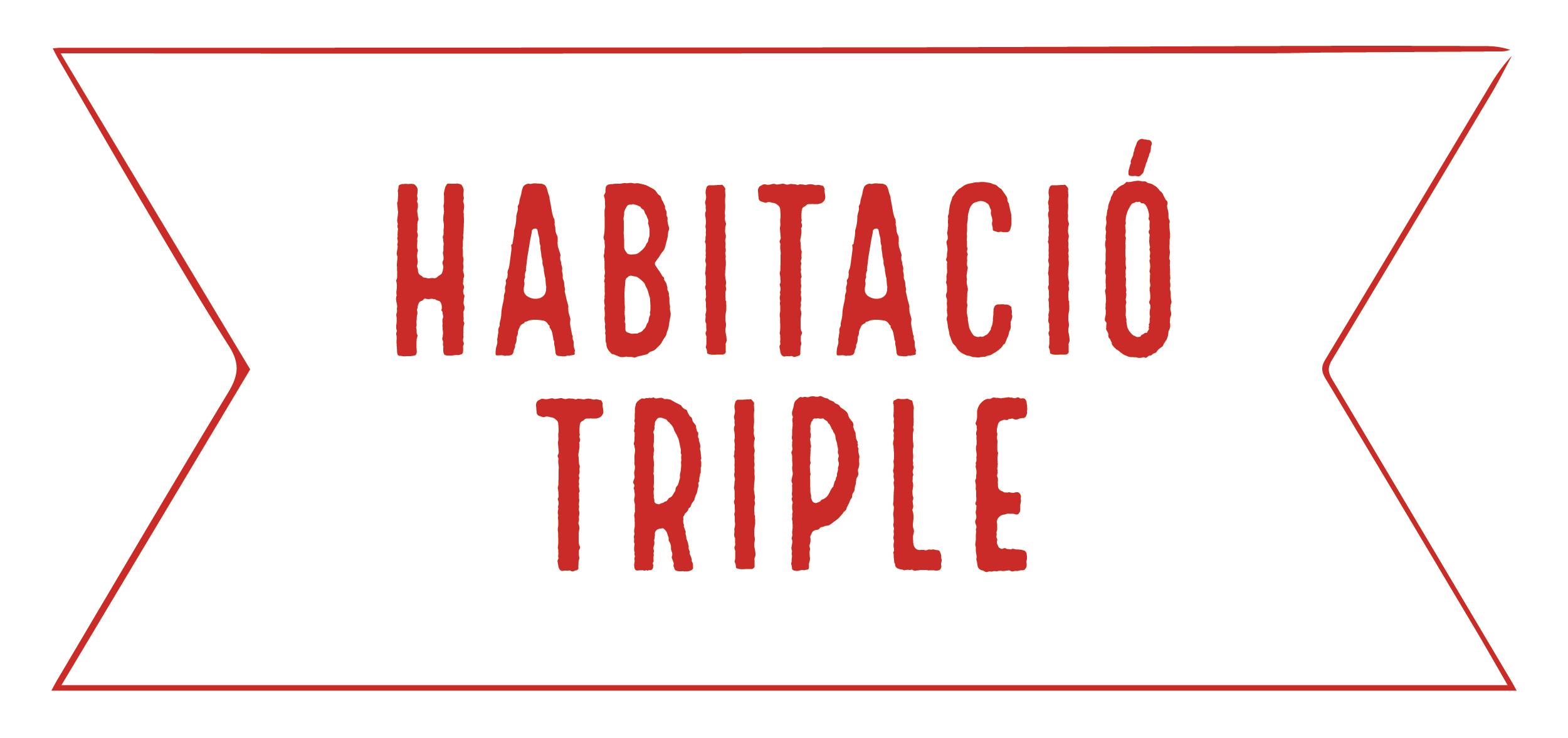 Habitació Triple